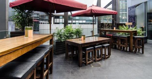 The Spacious Superior Rooftop Terrace