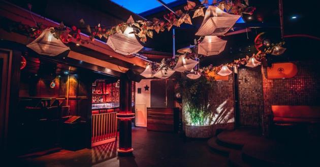 The Onesixone Rooftop Bar Area