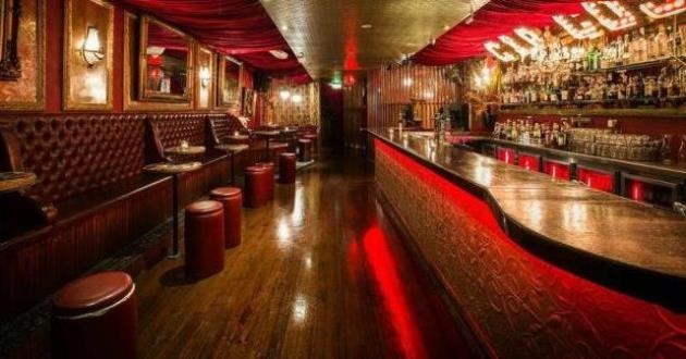 Moulin Rouge Inspired Sophisticated Bar (Main Room)