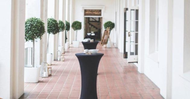 Colonnade & Terrace