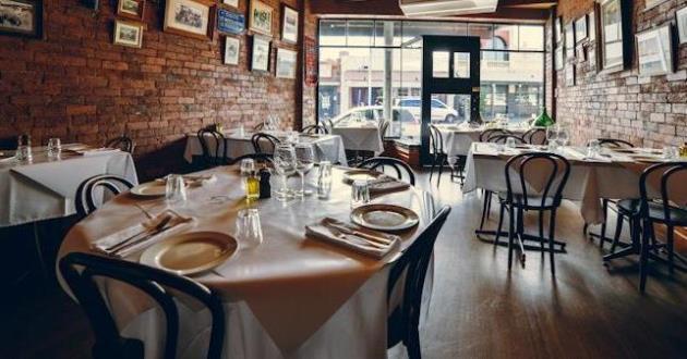 Philhellene Greek Restaurant - Main Dining Room