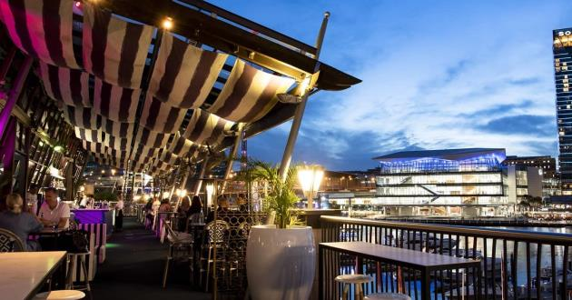 Harbour View Rooftop Terrace, Exclusive Use