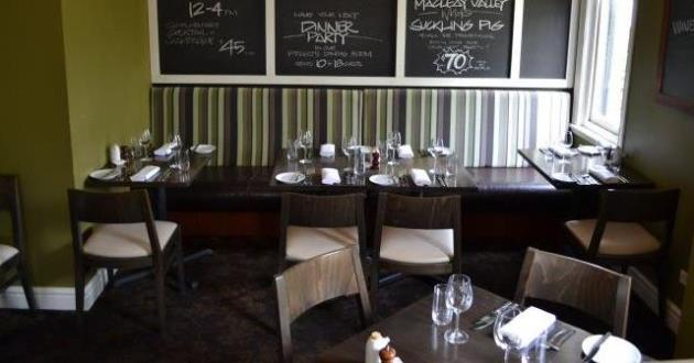 An Elegance of French and British Style Cuisine Restaurant