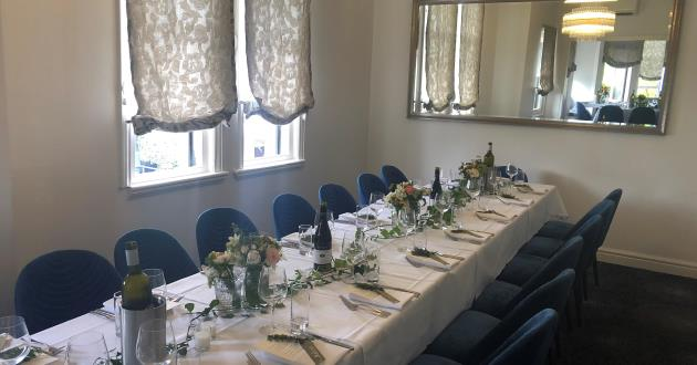 The Private Dining Room with Contemporary Elegance