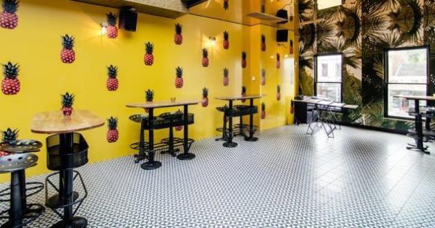 Pineapple Lounge and DJ Area