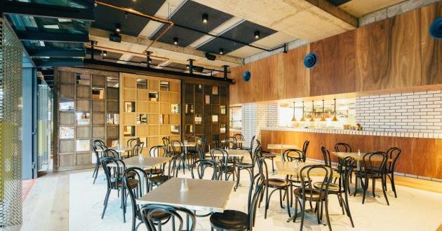 Open & Stylish Dining Room