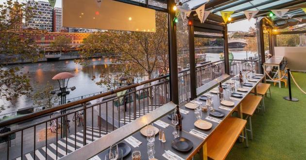 River Terrace with Yarra Views