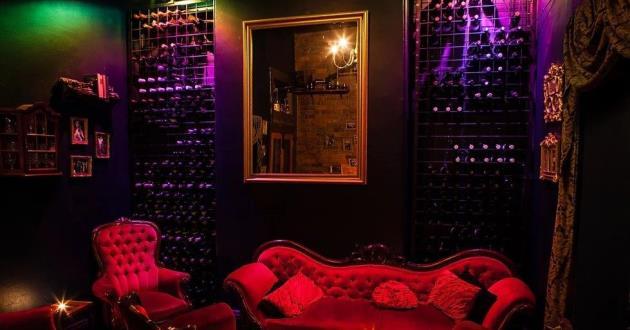 Intimate & Cosy Wine Room