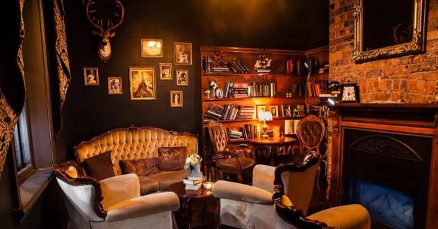 Cosy Cocktail Lounge - The Library