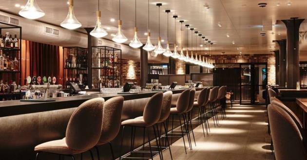 Entire Venue, New York Style Bar