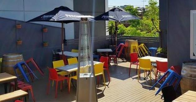 Crystal Bar & Outdoor Deck