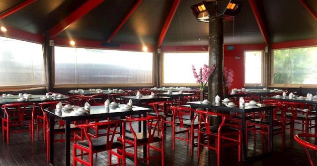 Fire & Stone Sichuan Dining Area