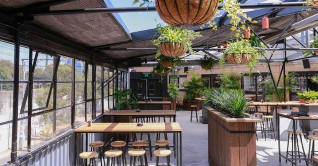 The Corner Hotel's Entire Rooftop Space