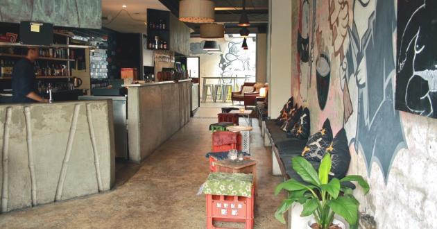Japanese Inspired Bar Space