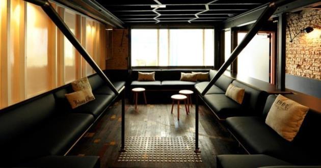 Lovingly Sunken Lounge Space