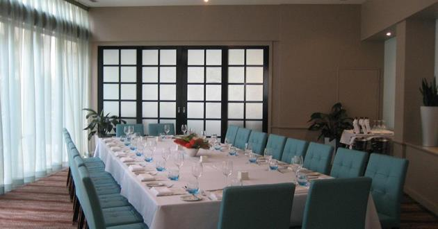 Private Dining Room with Outdoor Terrace