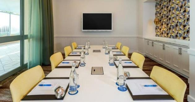 Natural-Light-Filled Executive Boardroom