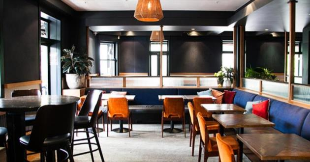 The Popular Crown Street Banquette Space