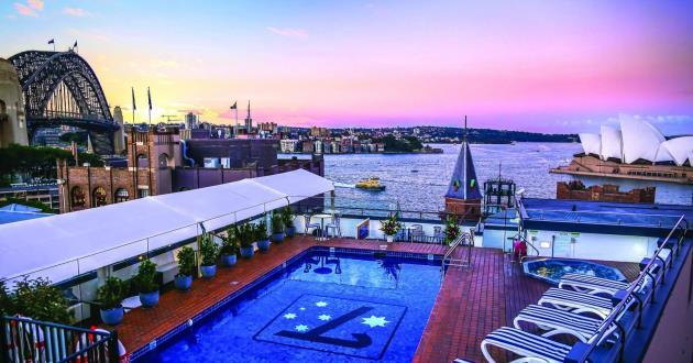 Sydney Harbour Rooftop