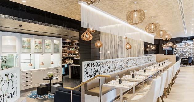 European-Inspired Bistro & Bar Space