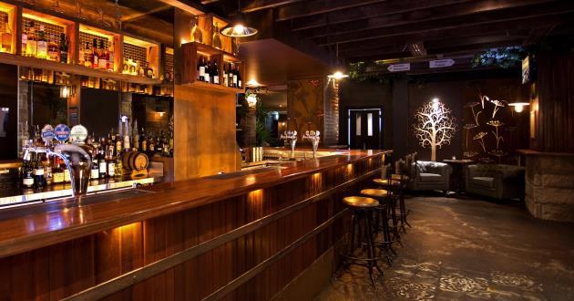 Modern Rustic Main Bar