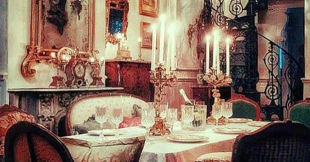 Private Parisian Salon Displayed with French Antiques