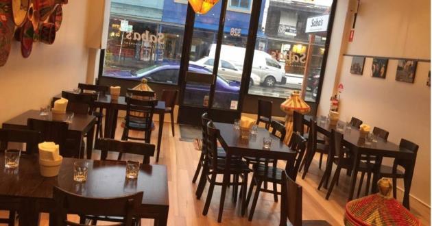 Ethiopian Restaurant Venue